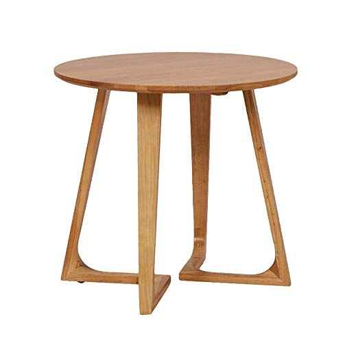 MICEROSHE Home Side Table Wooden Coffee Table Sofa Side Table Modern Furniture Decoration Home Bedroom Living Room Stable and Stylish (Color : Natural, Size : B)