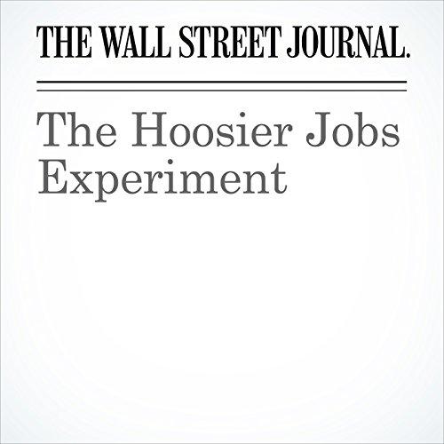 The Hoosier Jobs Experiment copertina
