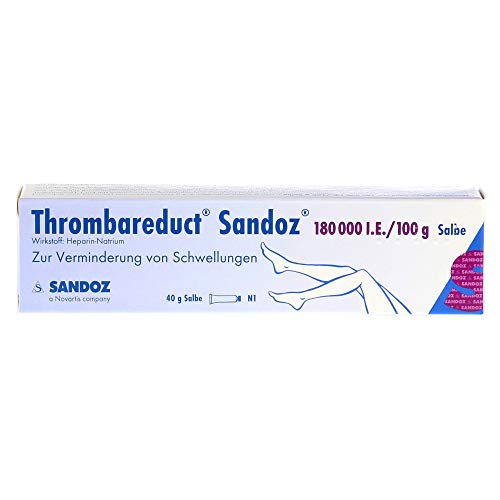 Thrombareduct Sandoz 180.000 I.E. Salbe, 40 g Salbe