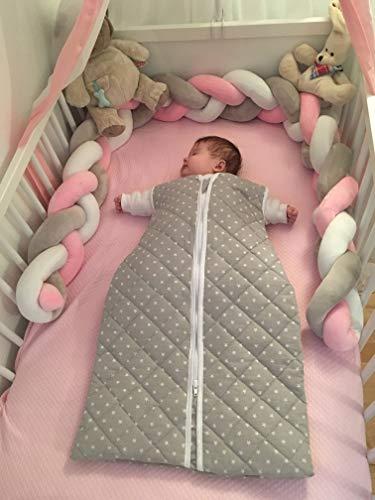 Zollner Saco de dormir para bebé invierno, algodón, 6-18 meses, otras medidas