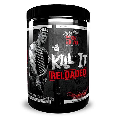 5% Nutrition - Rich Piana Kill It Reloaded, 513 g