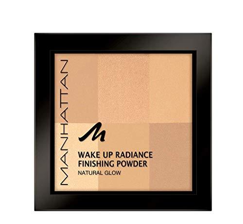 Manhattan Wake Up Radiance Finishing Powder, in der Farbe 001 Ivory, Für einen natürlichen Glow...