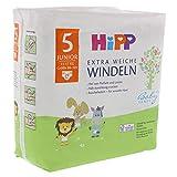 HiPP Babysanft Windeln für Kleinkinder, Geeignet von 11-17 kg, Gr. 5 (86-104), 5 Tragepack, 29 Stück - 7