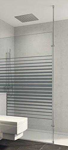 Mampara de ducha fija One o.2016 con botonera fija y barra sol-plafond. Vidrio Securit 6 o 8 mm antical personalizable: Amazon.es: Bricolaje y herramientas