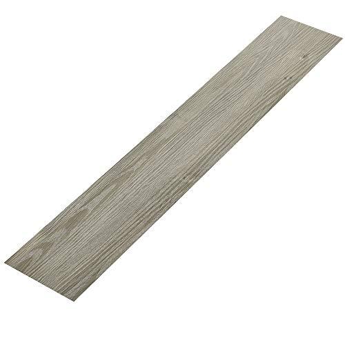 [neu.haus] Vinyl PVC floor covering 0,975 qm flooring highly textured decor planks oak matte finished