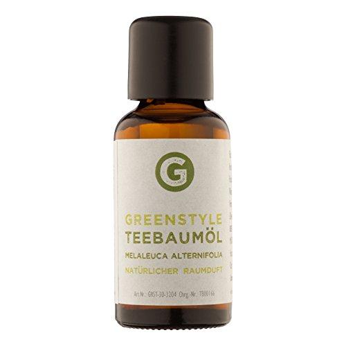 Teebaumöl (30ml) naturrein - ätherisches Öl von greenstyle