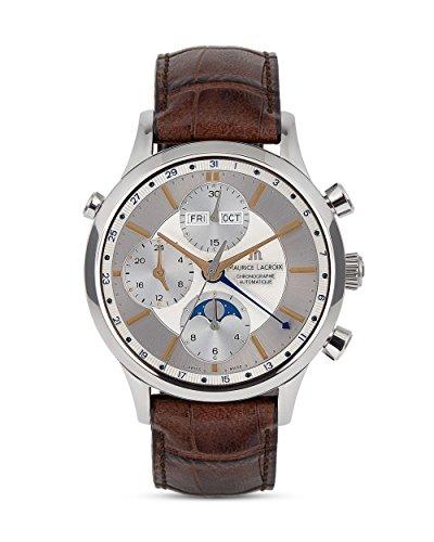 MAURICE LACROIX Schweizer Automatikchronograph Les Classiques LC6078-SS001-131-2