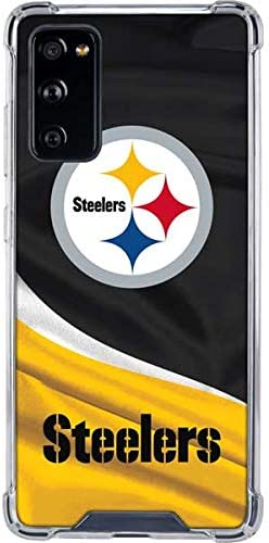 Skinit Clear Phone Case Compatible with Galaxy S20 FE Officially Licensed NFL Pittsburgh Steelers product image