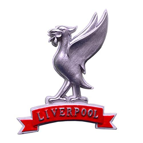 Liverpool Liver Bird Faja Imán para nevera - Plata