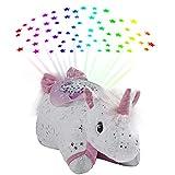 Pillow Pets Glittery Unicorn Sleeptime Lite 11' Stuffed Animal Plush Nightlight
