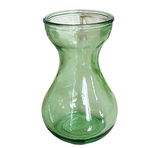 Outflower Vase en verre transparent de 14,5 x 10 x 7,5 cm 14.5*10*7.5CM vert