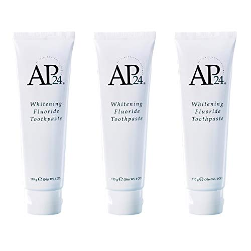 Nu Skin SvABNg Ap 24 Whitening Fluoride Toothpaste, 4 oz, 3 Pack