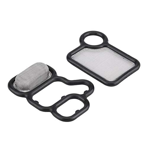 Keenso 2 PCS Valve Gasket, Engine Valve Cover Gasket Set Kit for Honda Accord 15815-RAA-A02 15845-RAA-A01