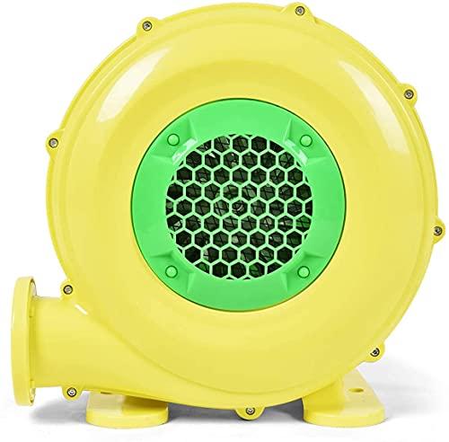 RELAX4LIFE 350/450/680W Luftgebläse, 220-240V, elektrische Gebläse mit großem Boden und Luftöffnung, Dauergebläse für aufblasbare Spielzeuge, Windmaschine mit langem Netzkabel (580m³/H 1500Pa 380W)