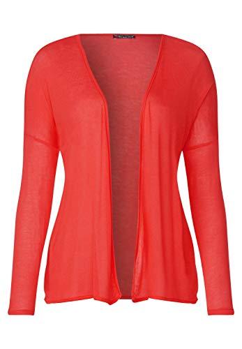 Street One 313774 Filvia Chaqueta Punto, Rojo (Bright Coral 11889), 40 (Talla del Fabricante: 38) para Mujer