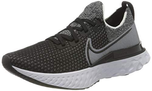 Nike React Infinity Run FK, Zapatillas para Correr Hombre, Black Black White, 40.5 EU