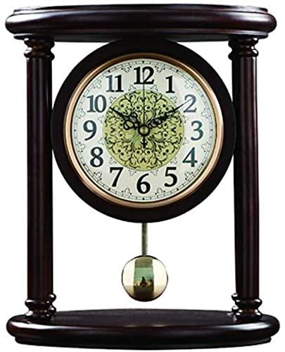Scultura,Reloj De Mesa / Simple / Sala De Estar Dormitorio Estudio / Reloj De Mesa / Reloj De Péndulo / Adornos De Escritorio Movimiento Silencioso Reloj De Repisa Sala De Estar Escritorio Decoració