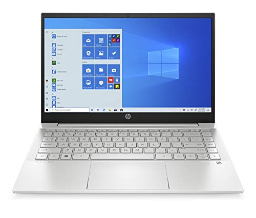 HP Pavilion 14-dv0077ng (14 Zoll / FHD IPS) Laptop (Intel Core i7-1165G7, 16 GB DDR4, 512 GB SSD, Intel Iris Xe Grafik, Windows 10 Home) Silber