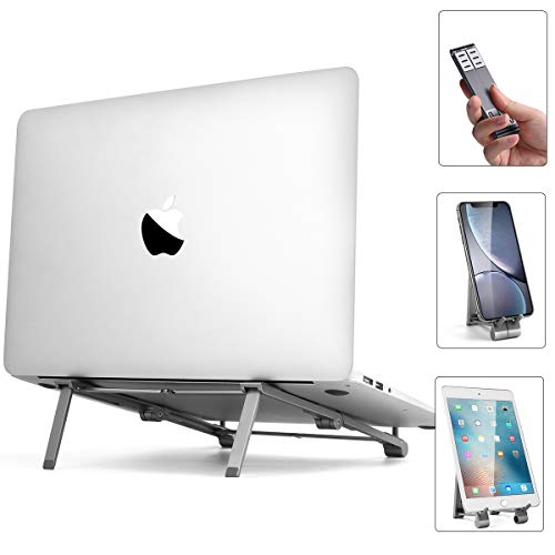 AICase Laptop Ständer, Tragbarer Notebook ständer Laptopständer,Computerhalterung für Ipad und MacBook Pro/Air,Dell, HP, Samsung, Lenovo alle 10