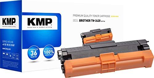KMP Toner ersetzt Brother TN-2410, TN-2420, TN2410, TN2420 Kompatibel Schwarz 3000 Seiten B-T116