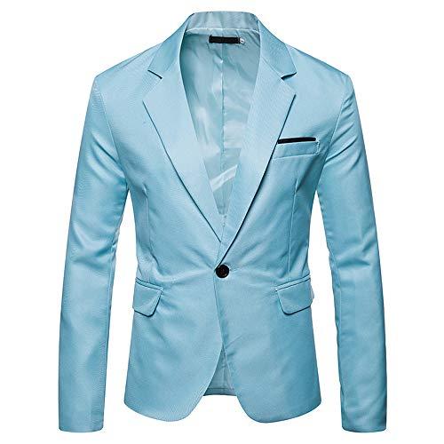Herenjack, elegant, slim fit blazer jas voor heren, klassiek, formel, voor heren - - Medium