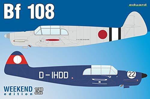エデュアルド 1/48 ウィークエンドエディション メッサーシュミット Bf108 タイフーン プラモデル EDU8479