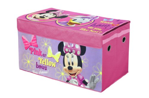 Collapsible Toy Storage Trunk for Girls
