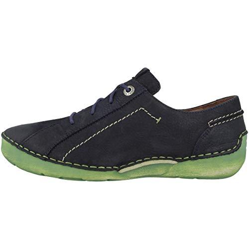 Josef Seibel Zapatos De Cuero Para Mujer Fergey 79 59679-869, Talla:38 Eu, Color:azul