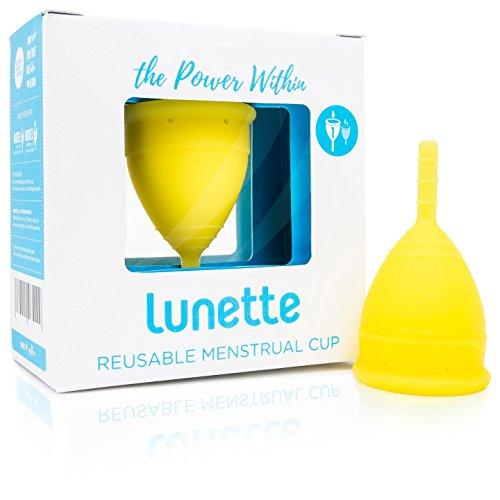 Lunette Menstruationstasse - Gelb - Model 1 für leichte Blutung – (DE Version)
