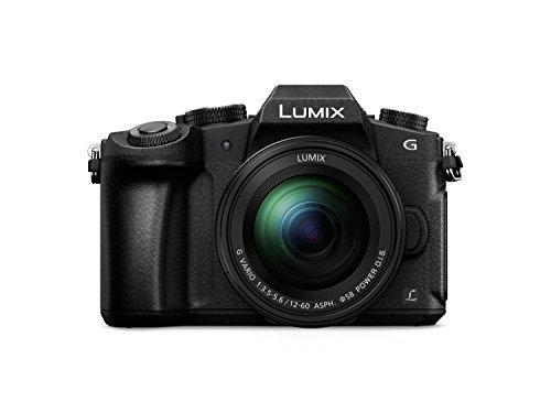 Panasonic Lumix DMC-G81MEG-K Systemkamera (16 MP, 4K, Dual I.S., OLED-Sucher, 7,5 cm Touch, 12-60mm Objektiv, schwarz)