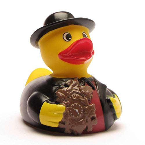 Duckshop I Badeente I Quietscheente I Schwarzwald Ente Mann