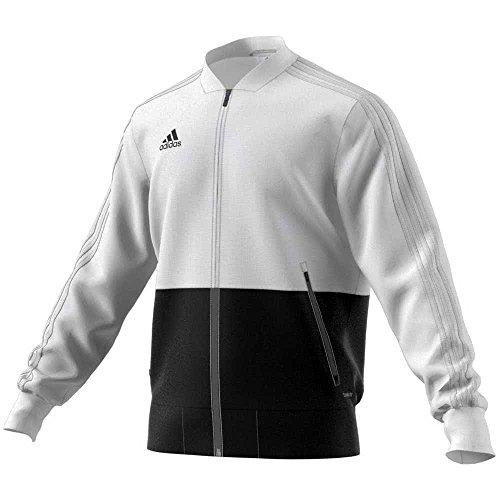 adidas CON18 PRE JKT Jacket, Hombre, white/black, XL