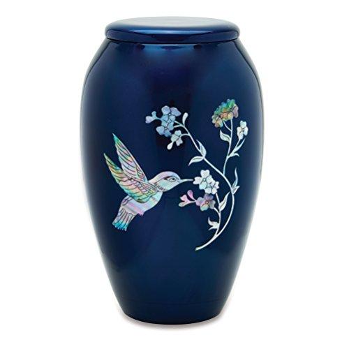 UrnsDirect2U Blue Hummingbird Adult Decorative-urns