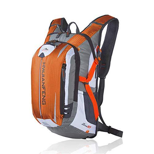 MountRise-Bags Mochila de ciclismo ultraligera e impermeable con red para casco desmontable,...