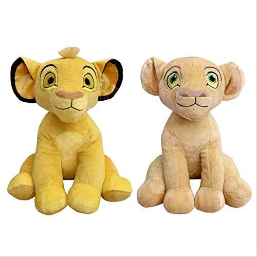 25cm Der König Der Löwen Simba Nala Plüschtier Nette Kuscheltiere Stofftier Jungen Mädchen Mädchen Kinderspielzeug Für Kinder Geschenke 2St