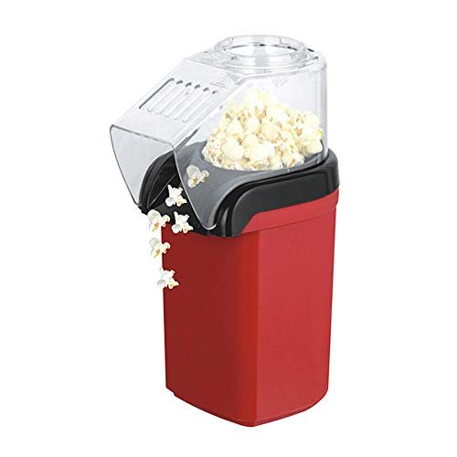 Learn More About Electric Mini Popcorn Machine, Fat Free Hot Air Popcorn Maker, 1200W, For Healthy H...