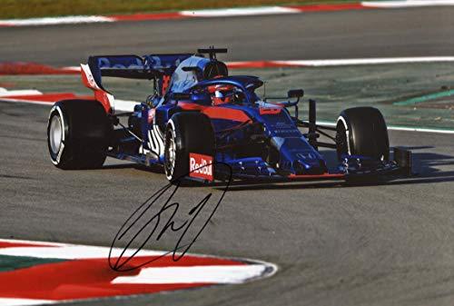 Daniil Kvyat FORMULA ONE TORO ROSSO 2019 autograph, In-Person signed photo