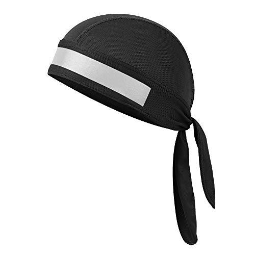 GZQ Männer und Damen Schnell Trocknende Piratenhüte, Skull Caps Sweat Wicking Beanie Mütze Hut Chemo Cap Motorrad Head Wrap