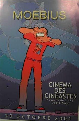 Moebius-Cinema der Cinéastes, 40 x 60 Cm Kunstdruck/Poster