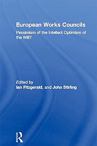 European Works Councils: Pessimism of the Intellect Optimism of the Will? (Routledge Research in Employment Relations Book 9) (English Edition)
