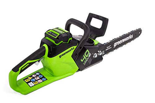 Greenworks CS40L01 14-Inch 40V Cordless Chainsaw