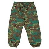 JAN & JUL Pantalones de lluvia impermeables para niños, Woodland Camuflaje, 24 meses