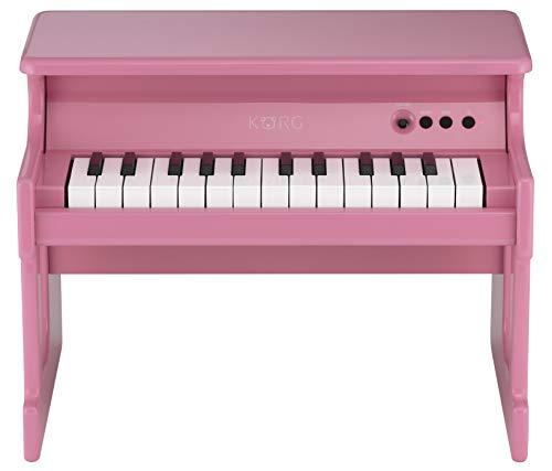 Korg TINYPIANO Mini-Piano mit 25 Tasten, Rosa