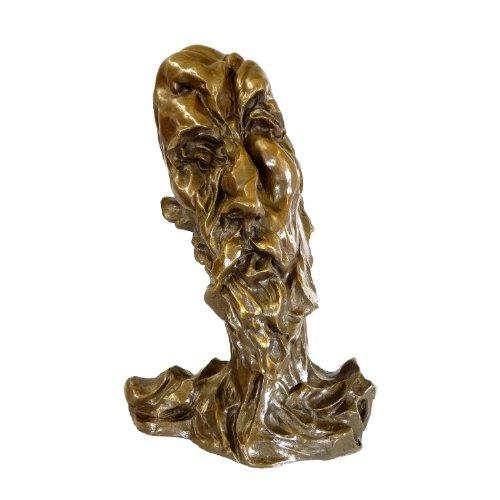Arte & Ambiente Otto Gutfreund – Figura de bronce firmada – Escultura Checa y pintor