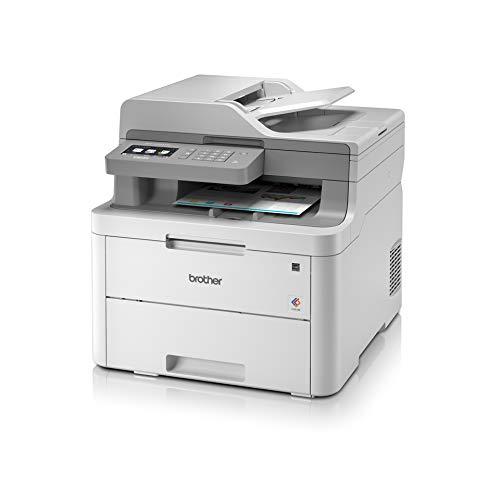 Brother DCPL3550CDWG1 3IN1 Impresora LED DCPL3550CDW A4/Duplex/WLAN/LAN/Color, Gris