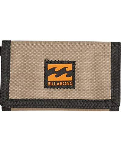 Billabong Men's Atom Wallet, Khaki, ONE