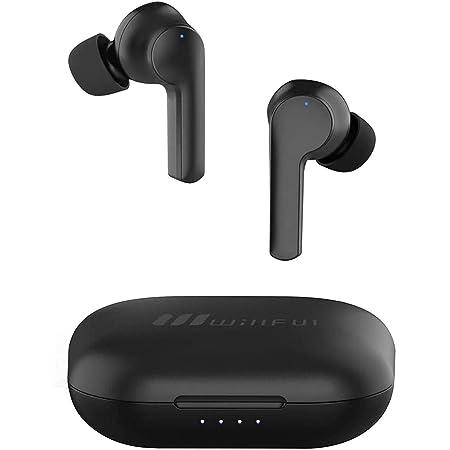 Willful Ecouteur Bluetooth Sans Fil Sport Oreillette Bluetooth 5.0 Intra Auriculaire Tactile USB C Etanche IPX7 HiFi Stéréo Micro Intégré Autonomie 40h Assistant Vocal pour Android iOS