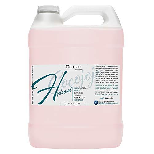 Rose Hydrosol Spray Cleansing Non GMO Facial Toner...