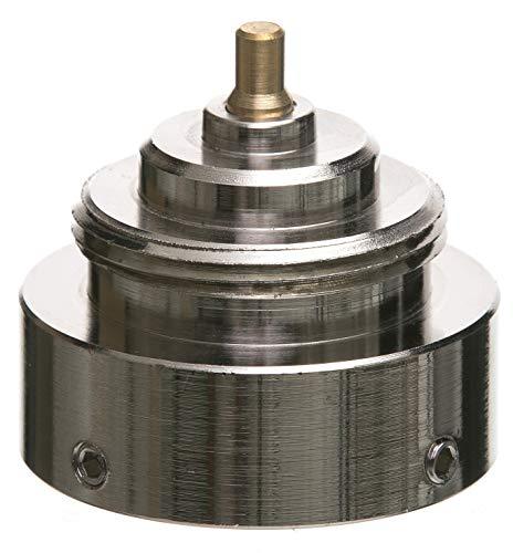 Eurotronic 700104 Danfoss RAV Metalladapter für elektronische Heizkörperthermostate, Metall