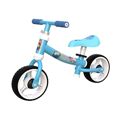 TYUXINSD Kids toys zaizai Bike Walker Kids Ride on Toy Gift for 1-3 Years Old Baby Balance Children for Learning Two Wheel Scooter No Foot Pedal Bicycle (Color : B) (Color : E)